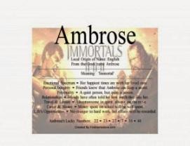 ambrose