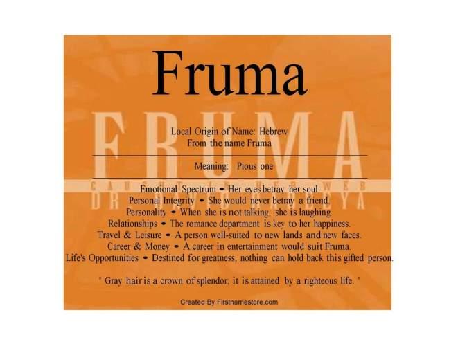 fruma